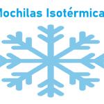 Mochila Isotérmica PequeñA