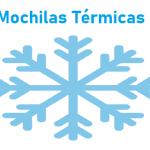 Mochilas Térmicas reparto Comida